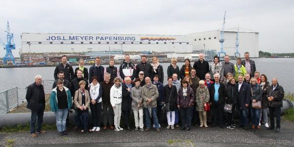 Mit dem Wirtschaftsclub in Papenburg