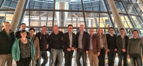 Besuch des deutschen Bundestages in Berlin