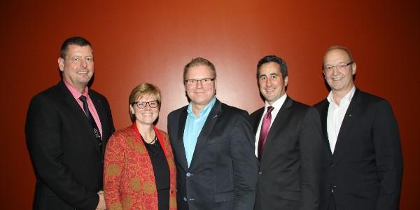 Wirtschaftsclub ab 2016 mit neuem Vorstand