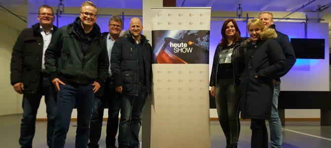 Besuch der heute-show in Köln