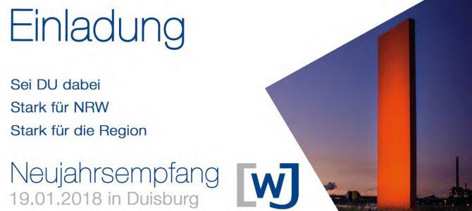 Neujahrsempfang der WJ NRW in Duisburg