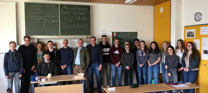 Bewerbungstraining an der Johann-Sporck-Realschule