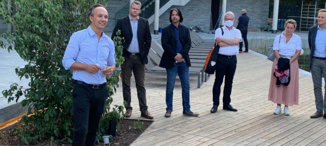 Besuch der neuen Waldsauna in der Westfalen-Therme