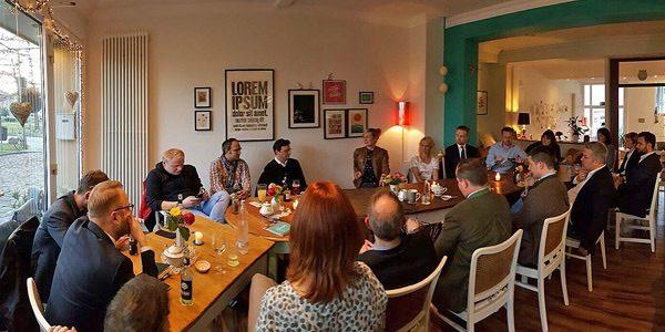Dialog mit NRW-Familienministerin Christina Kampmann, AK Zukunft & Politik