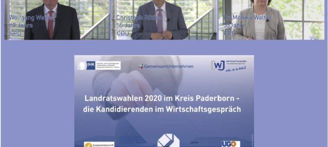 Die Landratskandidaten im Kandidaten-TÜV