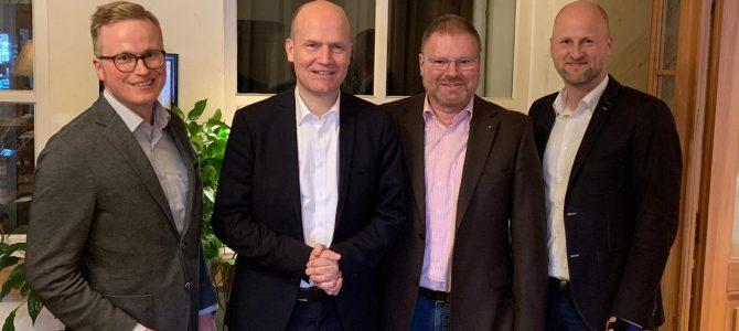 Kamingespräch mit Ralph Brinkhaus, Fraktionsvorsitzender CDU/CSU-Bundestagsfraktion