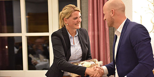 Kamingespräch mit NRW-Umweltministerin Christina Schulze Föcking