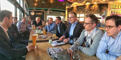 """Treffen mit Bürgermeister Burkhard Schwuchow, AK """"Zukunft & Politik"""""""