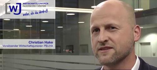 Video-Statement von Christian Hake zum Jahreswechsel 2018/19